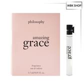 Philosophy 肌膚哲理 驚喜優雅女性淡香水 沾式小香 1.5ml Amazing Grace EDT - WBK SHOP