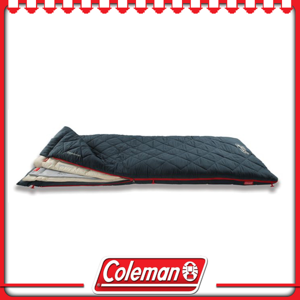 【Coleman 美國 多層睡袋】34777/可水洗/戶外/登山/露營用品/舒適睡墊