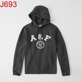 AF Abercrombie & Fitch A&F A & F 男 外套帽T J693