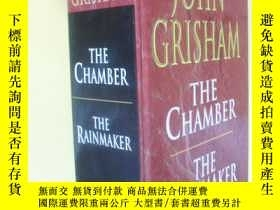 二手書博民逛書店英文原版罕見The Chamber and The Rainmaker by John GrishamY721