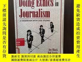 二手書博民逛書店Doing罕見Ethics in Journalism: A H