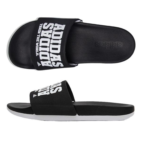 Adidas Adilette CF+ 男女 黑 白 愛迪達 Campus 經典休閒拖鞋 Cloudfoam 氣墊運動拖鞋 BY2615