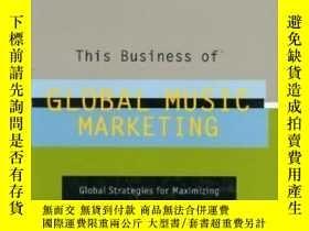 二手書博民逛書店This罕見Business Of Global Music MarketingY255562 Tad Lat
