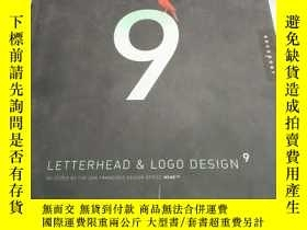 二手書博民逛書店Letterhead罕見and Logo Design 9 (Letterhead and Logo Design