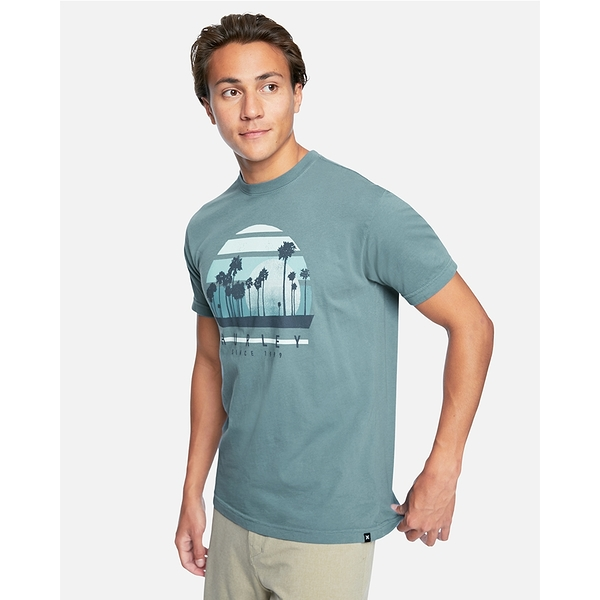 Hurley M PRM VACATIONS SS T恤-綠