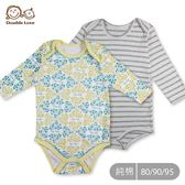 長袖純棉包屁衣 連身衣兔裝新生兒紗布衣嬰兒用品寶寶~GE0002 ~