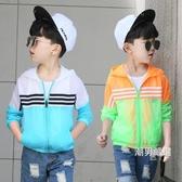 薄外套童裝男童夏裝防曬衣2018新品兒童夏季防曬服薄外套透氣小孩冷氣衫