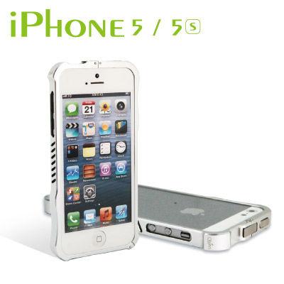 Apple iPhone5/5S 鋁合金保護框(免螺絲設計)三色可供選擇 送APPLE LINGHTNING CABLE 專用護線套 2入