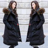 加厚棉衣裝中長款羽絨棉服外套女韓版學生兩面穿棉襖子 秋裝精品