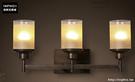 INPHIC- 美式鄉村風格臥室牆燈歐式復古走廊玻璃單頭鐵藝蠟燭台壁燈-G款_S197C