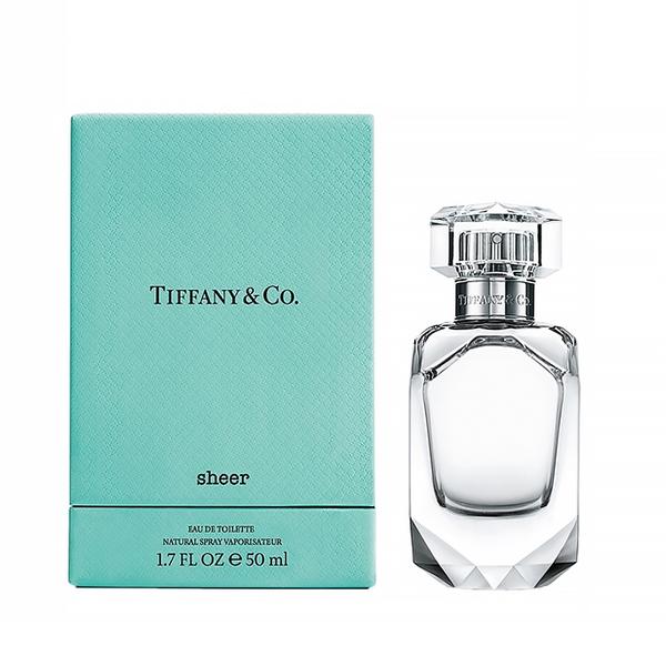 Tiffany & co. sheer 蒂芬妮 同名晶淬女性淡香水 50ml【UR8D】