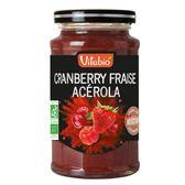 ✪法國Vitabio 優果醬-蔓越莓草莓✪