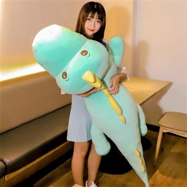 可愛恐龍毛絨玩具大號公仔娃娃韓國抱枕