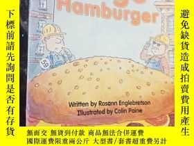 二手書博民逛書店huge罕見hamburgerY12498