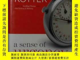 二手書博民逛書店英文原版罕見A Sense of Urgency by John