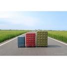 LOJEL 20吋 登機箱 超大容量行李箱 8:2開行李箱 旅行箱 拉鍊箱 PP箱 PP10 (紅/藍/綠)