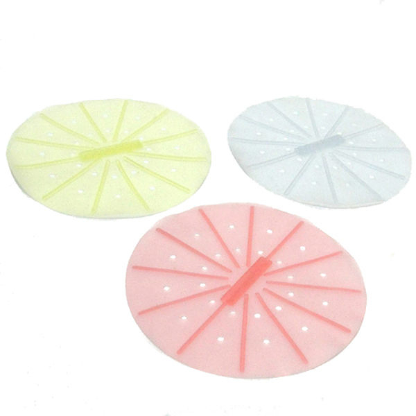 Buy917  【軟食器】無毒環保 餐具 食用 矽膠蒸墊(3入)(100%MIT)