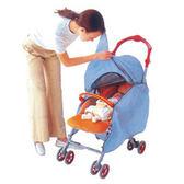 (99967) 愛普力卡 Aprica 嬰幼兒手推車專用新型防水透氣雨罩(黃)