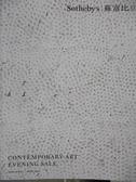 【書寶二手書T1/收藏_ZJI】Sotheby s_Contemporary Art Evening Sale_2019/4/1