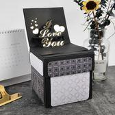 成品爆炸盒子diy手工驚喜創意生日禮物表白告白抖音照片相冊盒子igo  琉璃美衣