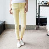 OB嚴選《BA2256-》腿型內收剪裁顯瘦鬆緊窄管褲‧8色--適 S~XL