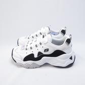 Skechers D LITE 3.0 ZENWAY 女款 休閒鞋 老爹鞋 12955WBK 白【iSport愛運動】