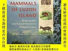 二手書博民逛書店The罕見Mammals Of Luzon IslandY255