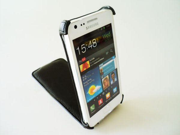驚豔多色*SAMSUNG GALAXY S2 I9100  皮套/上下掀 下掀皮套 翻蓋 保護套 手機 掀蓋皮套 可站立