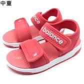 《7+1童鞋》中童 New Balance K2019P2P 韓國限定 透氣  防水  休閒  運動涼鞋  9453  桃色