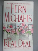 【書寶二手書T3/原文小說_IHM】The Real Deal_Michaels, Fern
