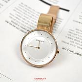手錶 STACCATO玫金都會風米蘭錶NEKS16