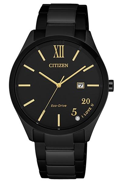 34.5mm【分期0利率】星辰錶 CITIZEN 全黑 光動能 原廠公司貨 EW2457-85E