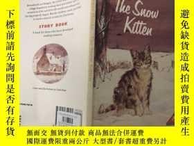 二手書博民逛書店the罕見suow kitten 小貓咪Y200392