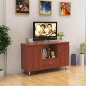 電視櫃簡易客廳臥室電視櫃簡約現代小戶型高款落地電視機抽屜桌wy【全館85折】