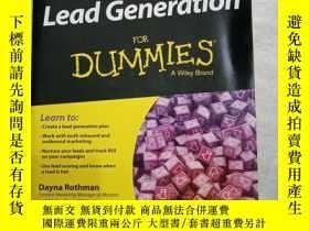 二手書博民逛書店lead罕見generation: for dummies a