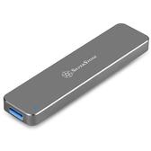 SilverStone 銀欣 SST-MS09B M.2 SATA SSD USB 3.1 Gen 2 外接盒 黑色