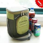 韓式加厚飯盒袋大號鋁箔冷藏冰袋圓形保溫桶袋子套防水手提便當包