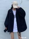 2019初秋新款復古港味小香風百搭外套女韓版寬鬆工裝長袖上衣『艾麗花園』