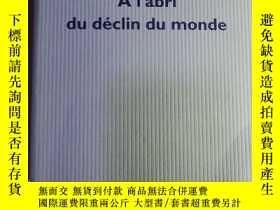 二手書博民逛書店François罕見Cusset   A l abri du d