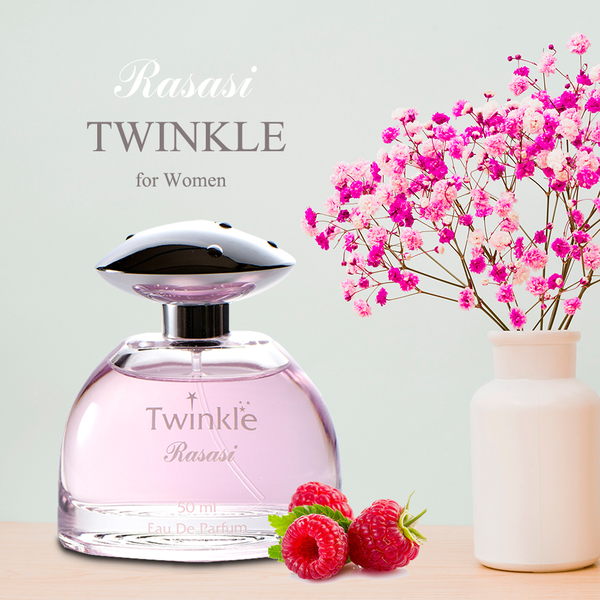 Rasasi拉莎斯 Twinkle紅粉佳人 藍莓與麝香 精緻沙龍女香50ml