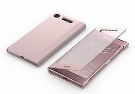 粉色現貨∥Sony Xperia XZ1 G8342 智慧視窗時尚保護套 原廠皮套 (SCTG50) 【原廠盒裝】