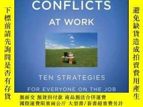 二手書博民逛書店Resolving罕見Conflicts at Work: Ten Strategies for Everyone
