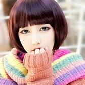 假髮(短髮)-時尚俏皮可愛齊劉海女配件3色73fi4【時尚巴黎】