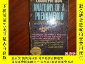 二手書博民逛書店《ANATOMY罕見OF A PHENOMENON》Y13595