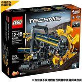 不挑盒況樂高特價 樂高LEGO TECHNIC 巨型滾輪挖土機 42055 TOYeGO 玩具e哥
