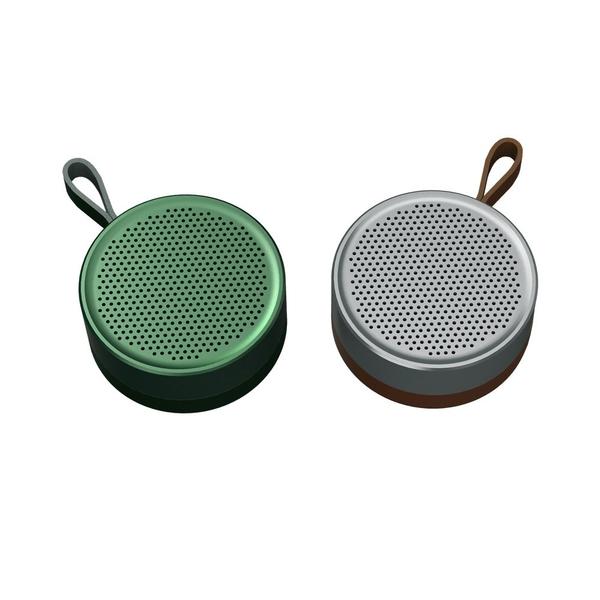 REMAX RB-M39 金屬藍牙音箱 金屬與皮革工藝 迷你於掌心 支援TWS IPX5防水 正版台灣公司貨