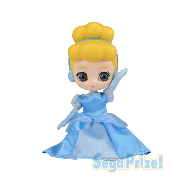 日本SEGA PLAZA 景品 CUICUI 迪士尼 灰姑娘公仔_ SE30551