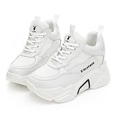 PLAYBOY Vintage 內增高 兔兔老爹鞋-白(Y6801)