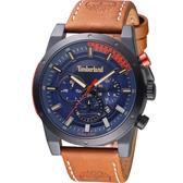 Timberland 兩地時間多功能腕錶(TBL.15951JSB/03)48mm