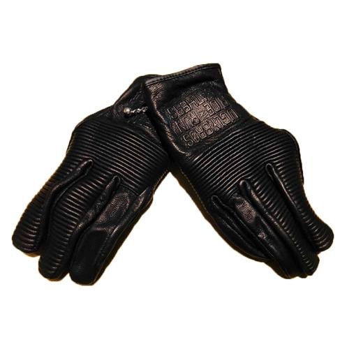 【東門城】UGLYBROS UGB-516手套 (黑) 真皮手套 3C觸控布料 拉鍊設計